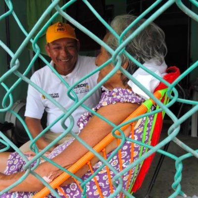 Mauricio Delfín dice que va por soluciones posibles en el Distrito 2
