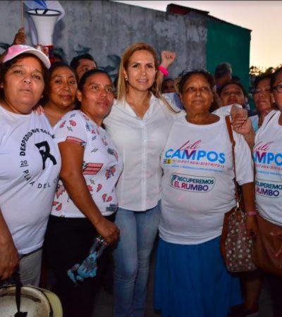 """Arremete Lili Campos contra Alcaldesa y llama """"a poner un alto a la avaricia de Laura Beristain"""""""