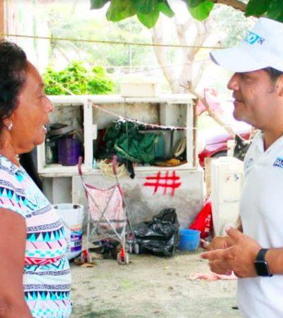 Plantea Eduardo Pacho dos policías por cada mil habitantes y el doble de patrullas para Cancún