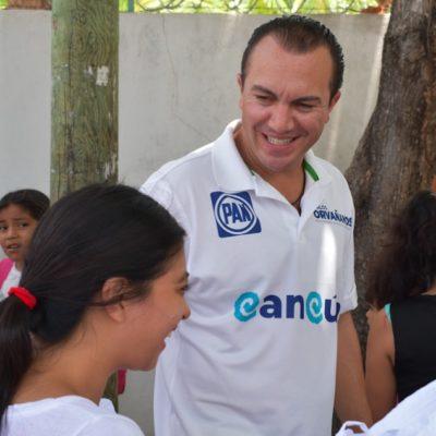 Asegura Carlos Orvañanos que será una prioridad promover leyes para reforzar el sector educativo en QR