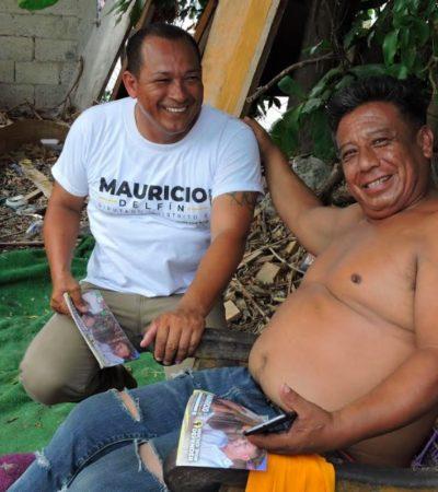 Soy un ciudadano más y voy por el beneficio de todos nosotros, dice Mauricio Delfín