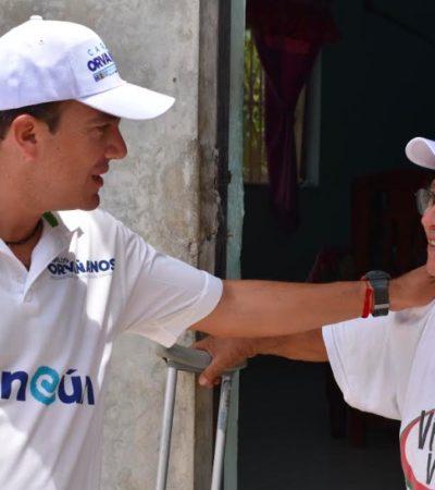 Plantea Carlos Orvañanos la necesidad de reforzar la seguridad de Cancún aumentando el número de policías
