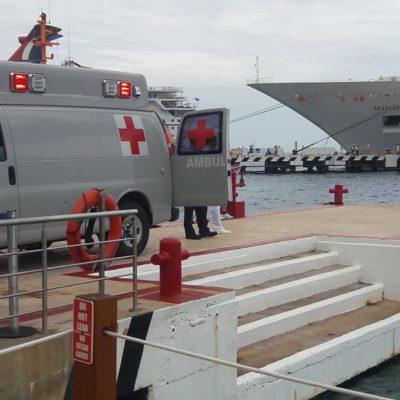 Convergerán 15 países en Cozumel para discutir seguridad portuaria