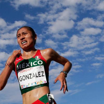 Suspenden cuatro años a la marchista mexicana Guadalupe González por uso de anabólico prohibido