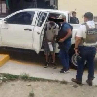 Detienen a 'El Tompo', jefe de plaza del violento Grupo Sombra que opera en el norte de Veracruz