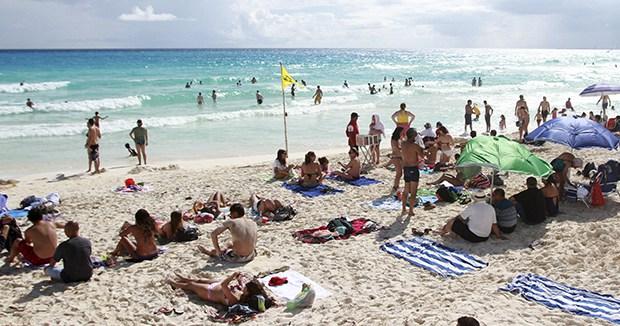 LA PRESENCIA DEL SARGAZO NO ESTÁ GENERALIZADA: El alga no está ni todos los días, ni en todas las playas de Quintana Roo