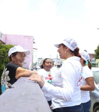 Renata Ríos propone crear un programa social para ayudar a madres solteras mayores de 40 años sin empleo