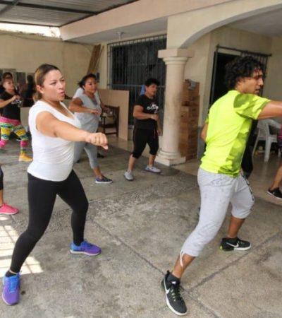 Érika Castillo se compromete a promover recursos para impulsar y fomentar el deporte popular
