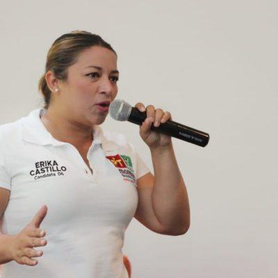 Asegura Erika Castillo que velará por derechos de estudiantes y para que puedan tener acceso a becas escolares y de transporte