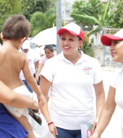 Renata Ríos dice que hay que apoyar con todo a la infancia porque es la  clave de un mejor desarrollo para Quintana Roo