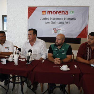"""DENUNCIAN 'GUERRA SUCIA' CONTRA CANDIDATOS MORENISTAS: Presentan tres denuncias ante Fepade y exigen al Gobernador que """"no meta las manos"""" en el proceso electoral de QR"""
