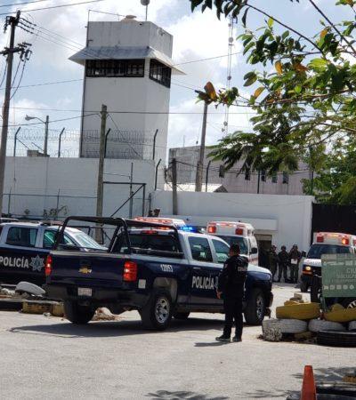 SEGUIMIENTO | Tras la riña masiva en la cárcel de Cancún, trasladan durante la madrugada a 34 reos al Cereso de Chetumal