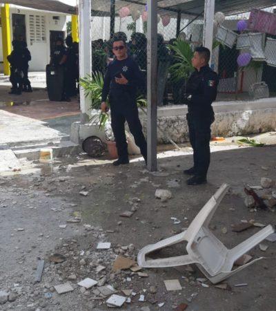 RIÑA EN LA CÁRCEL DE CÁNCÚN: Saldo de 14 lesionados por enfrentamiento entre reos