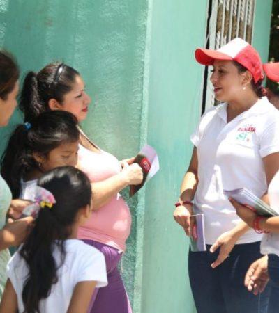 Reconoce Renata Ríos la importancia de impulsar leyes para beneficiar a las madres quintanarroenses