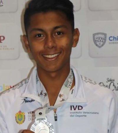 FUGA DE TALENTOS POR FALTA DE APOYOS: Gana chetumaleño plata en atletismo… pero con la camiseta de Veracruz