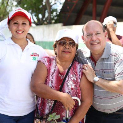 Renata Ríos invita a la población a conocer sus propuestas