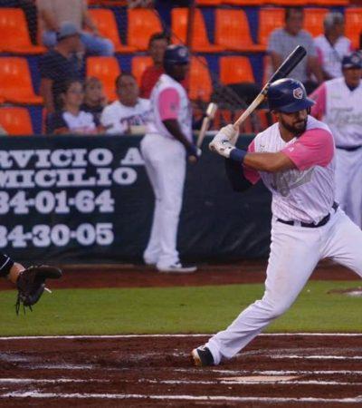 LA VISITA GANA JUEGO DE TOMA Y DACA: Tres volteretas se presentaron en el segundo juego de la serie inter zonas, donde los Tecolotes de los Dos Laredos aseguraron el compromiso al vencer 8-7 a los Tigres de Quintana Roo