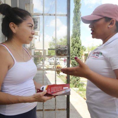 El proyecto de Morena es real y no necesita el pago de porras, dice Erika Castillo