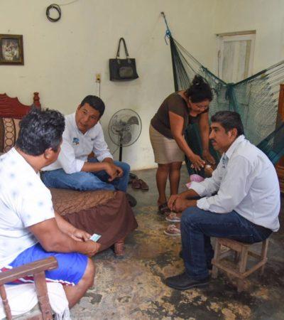 Ofrece 'El Chino' Zelaya gestionar más recursos para brindar seguridad ciudadana