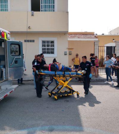 SE TORNA TRÁGICO ASALTO EN LA SM 523 DE CANCÚN: Muere mujer que sufrió un fuerte golpe al tratar de huir de atracadores en una empresa de consultoría