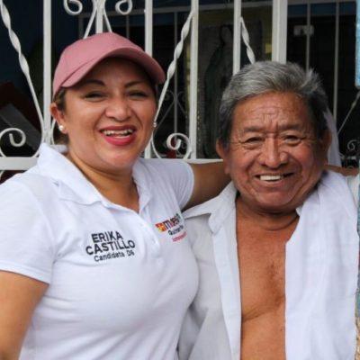 Érika Castillo reafirma su compromiso con el sector educativo de QR