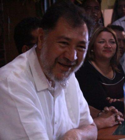 """""""Implementación del Mando Único obedece a temas políticos y no a seguridad ciudadana"""", asegura Fernández Noroña, y advierte a Carlos Joaquín que habrá consecuencias legales"""