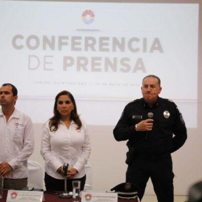 """""""Cambios en la Secretaría de Seguridad Pública es porque Cancún requiere medidas extraordinarias de seguridad"""", afirma Mara Lezama"""