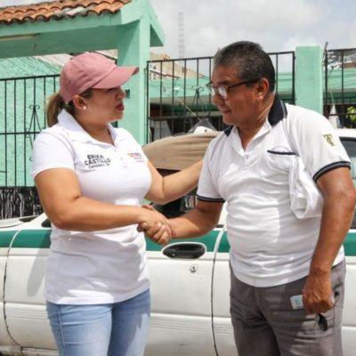 Érika Castillo refrenda compromiso para revocar la concesión de Aguakan en QR