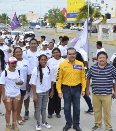 """""""Juntos vamos a devolver la tranquilidad de la Riviera Maya"""", asegura Luis Roldán"""