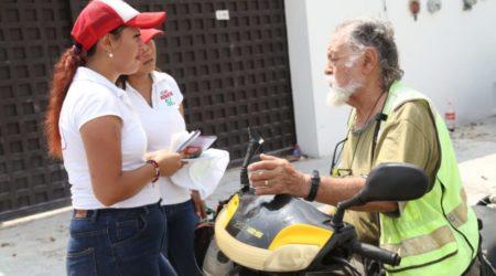 """""""Renata Ríos conoce de frente las necesidades de la gente"""", afirma la candidata en el Distrito 5"""