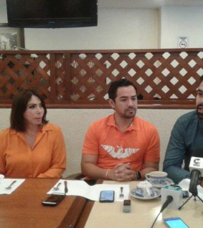 Integrantes de Movimiento Ciudadano exhortan a no politizar más el tema de seguridad en QR