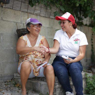 Plantea Renata Ríos crear el Instituto Estatal para la atención de personas Adultas Mayores