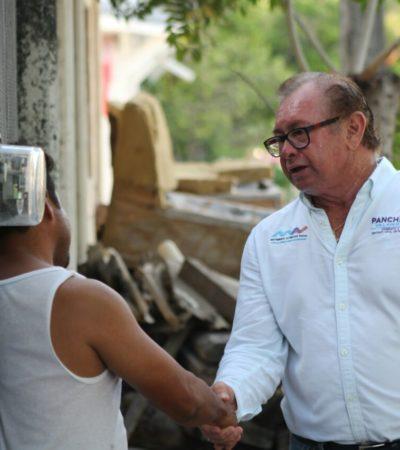Propone Panchito Villanueva cero pago de derechos para construcción o remodelación de casas