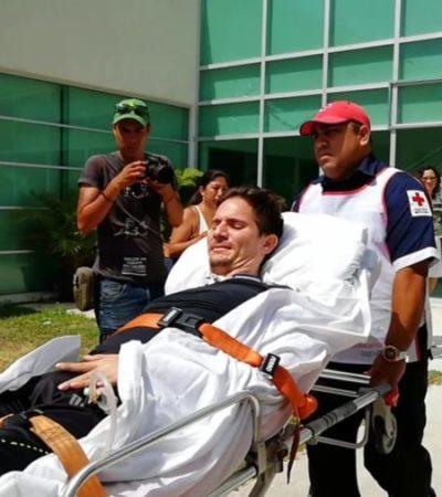 Vinculan a proceso a María Fernanda Salcedo, esposa de #LordCobarde, por agresión calificada contra Roberto González