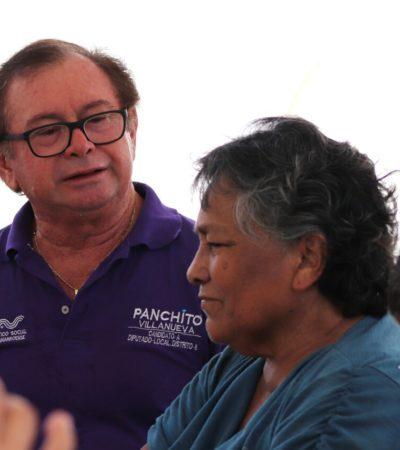 Ofrece Panchito Villanueva legislar para dar mayor apoyo a los adultos mayores