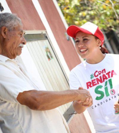 Renata Ríos asegura ser la mejor opción para el distrito 5
