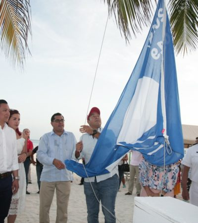 Contará Isla Mujeres con tres playas certificadas con el distintivo 'Blue Flag' para este 2019