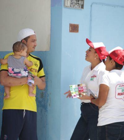 Renata Ríos asegura que es una mujer eficaz y lista para legislar a favor de los quintanarroenses