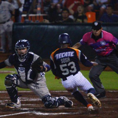 MONTERREY GANA MADRUGANDO: Buen duelo de pitcheo se vivió en el inicio de serie, pero los Sultanes terminaron imponiéndose con cerrada pizarra de 4-2 a los Tigres de Quintana Roo