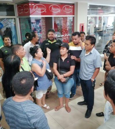 INCERTIDUMBRE DE LOCATARIOS EN EL CRUCERO: Preocupa proyecto de remodelación anunciado que podría afectar a más de 500 establecimientos en Cancún