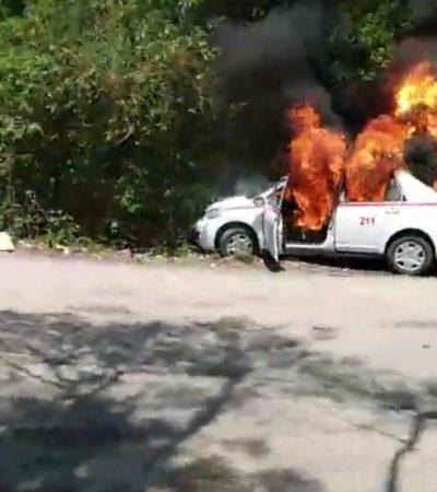 SE ENFRENTAN A GOLPES, PEDRADAS Y MACHETAZOS: Estalla la violencia  entre taxistas y mototaxistas en Tulum con saldo de dos lesionados y cuatro detenidos