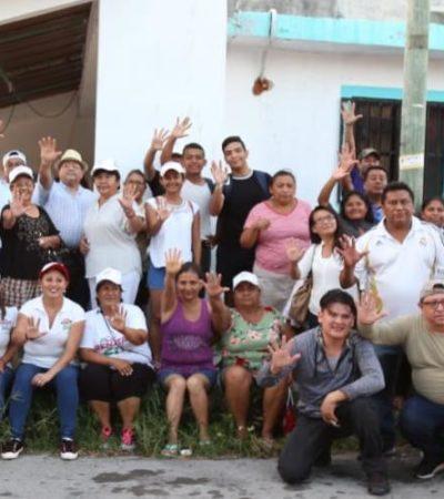 Promoverá Renata Ríos el voto hasta el último minuto de la campaña; asegura va a ganar en el Distrito 5 de Cancún