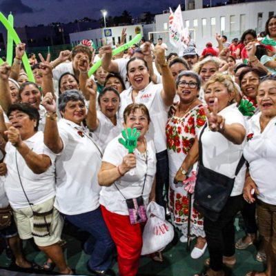 """CIERRA CAMPAÑA VALE ARAGÓN EN ISLA MUJERES: """"Estamos listos para celebrar la contundente victoria este 2 de junio y estoy preparada para la responsabilidad de ayudar a mi pueblo"""", dice la candidata del Distrito 1"""