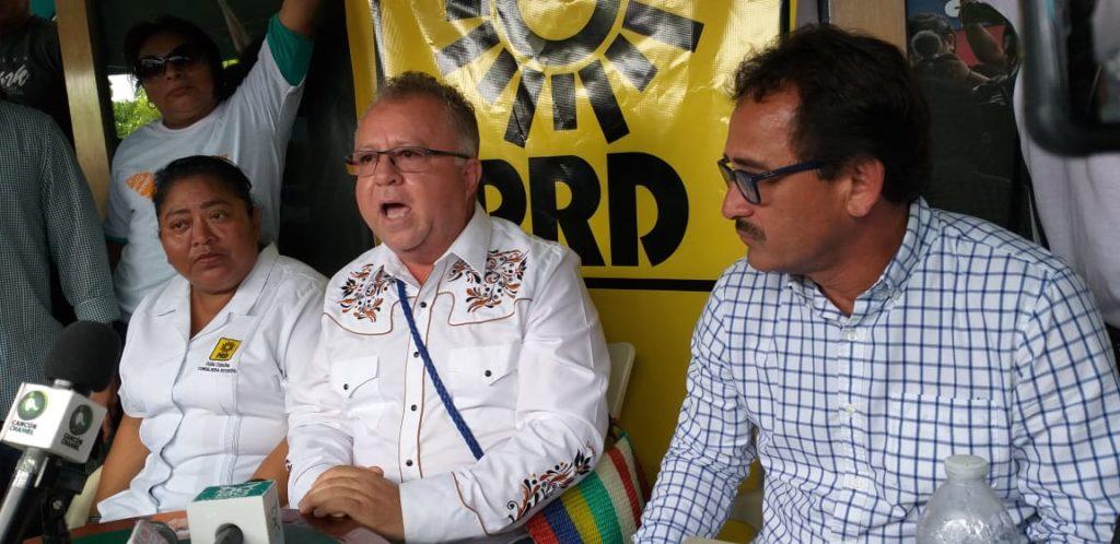 En el último día de campaña, candidatos de MAS y consejera del PRD se suman al proyecto de Movimiento Ciudadano con Humberto Lara