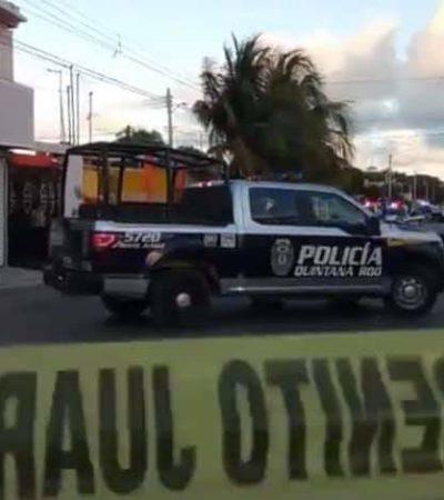 ACTUALIZACIÓN   BALACERA EN LA REGIÓN 92: Ataque contra cabecilla de un grupo del narco deja un muerto y un lesionado en Cancún
