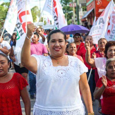 """ABARROTADO CIERRE DE CAMPAÑA DE VALE ARAGÓN: Pide candidata que """"no bajemos la guardia"""" para que todo lo que hicimos haya valido la pena"""