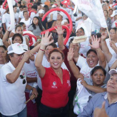 Cierra campaña Renata Ríos y asegura que va a ganar la elección por el Distrito 5