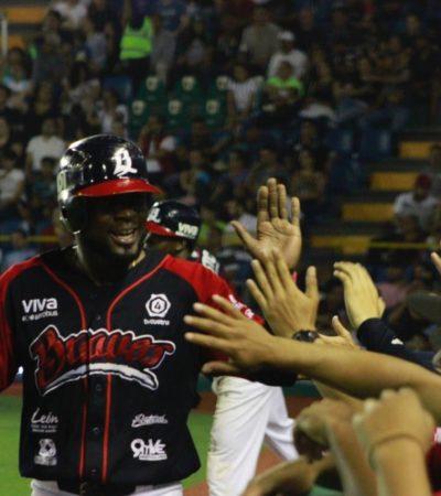 BRAVOS GANA SERIE: Par de racimos de tres anotaciones, encaminaron a León a imponerse 15-3 a los Tigres de Quintana Roo