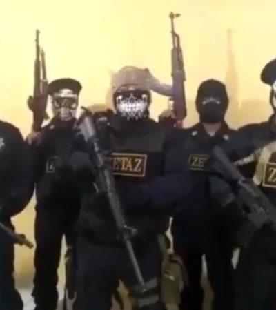 VIDEO | Advierte 'Zeta vieja escuela' que se reagrupa para 'limpiar' Veracruz de bandas rivales