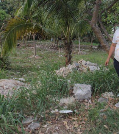 Exhortaré al Ayuntamiento de Benito Juárez para que garantice seguridad en las cercanías de lotes baldíos en Cancún, anticipa Abi Andueza
